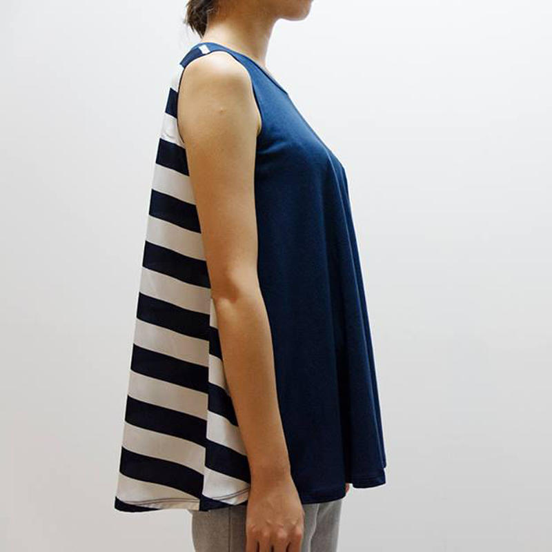 caart / conic tank top