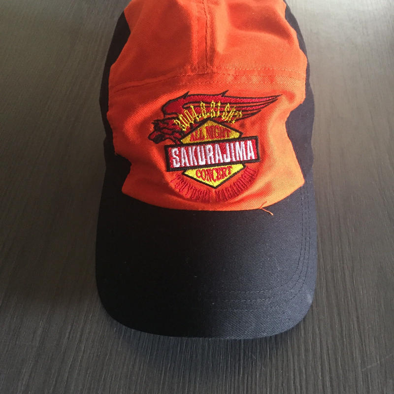 桜島オールナイトコンサート グッズ帽子