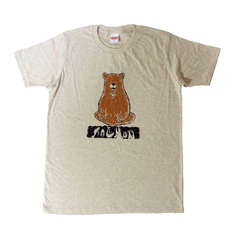 サーモンベアTシャツ