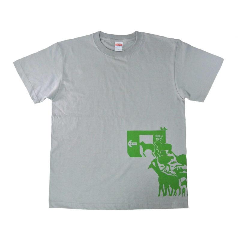 非常口?ノアの箱舟Tシャツ メンズ