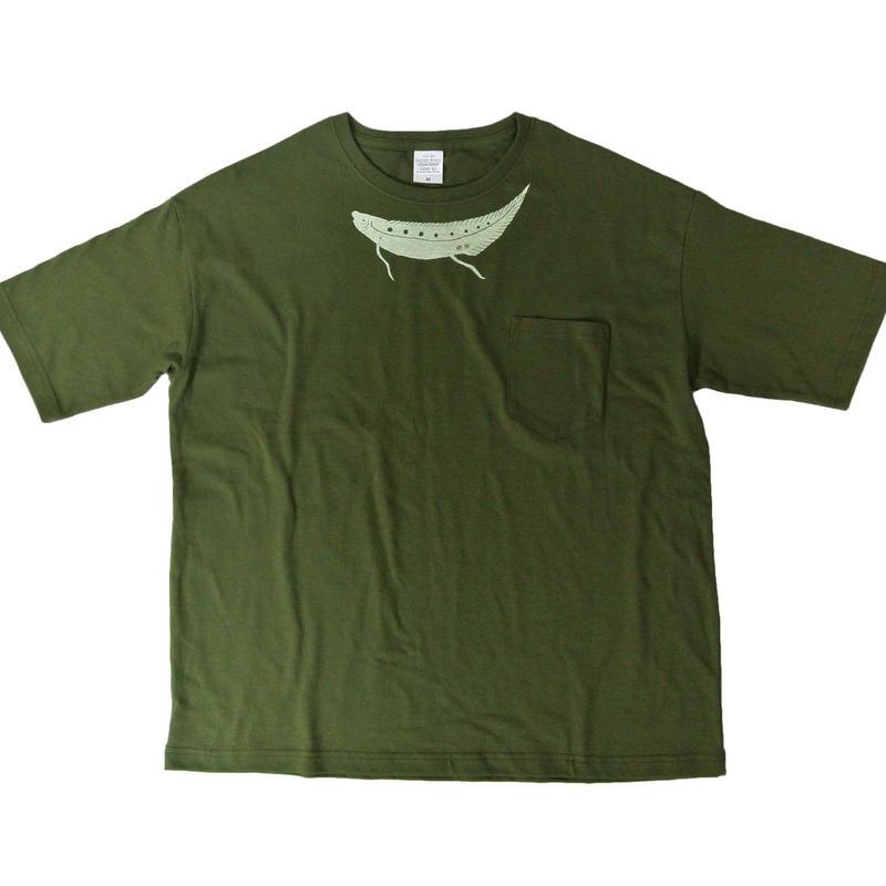 肺魚 ビッグシルエットTシャツ
