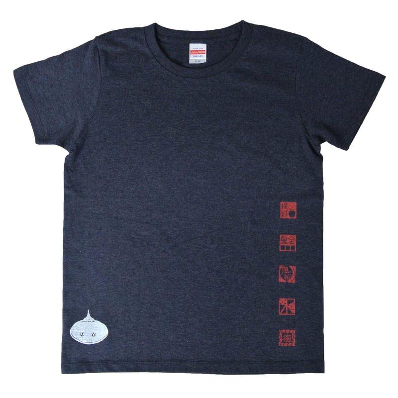 概、深海魚Tシャツ レディース
