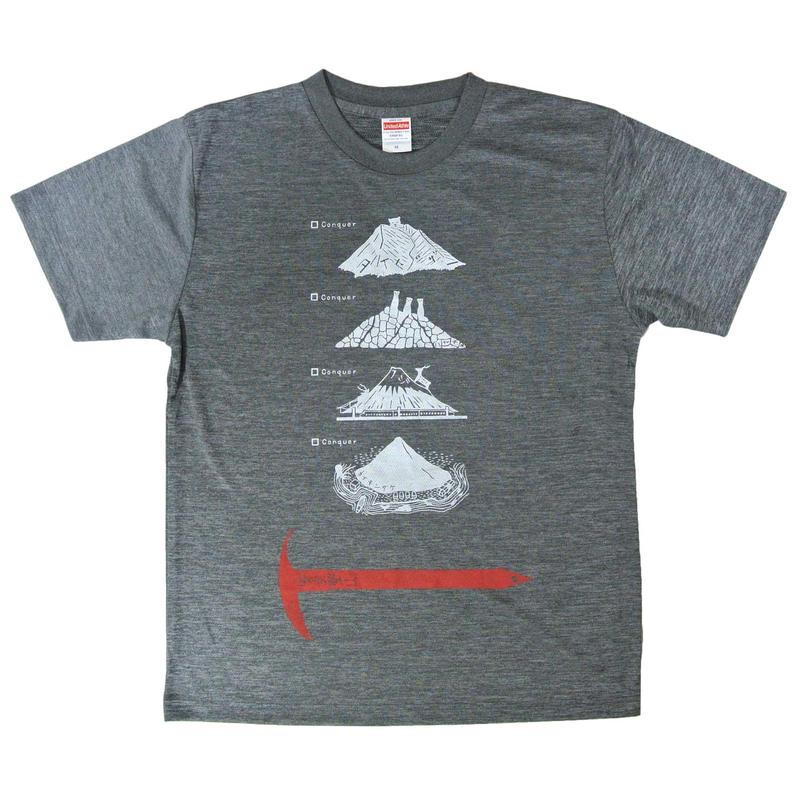 安全登山ドライTシャツ メンズ(S M L)