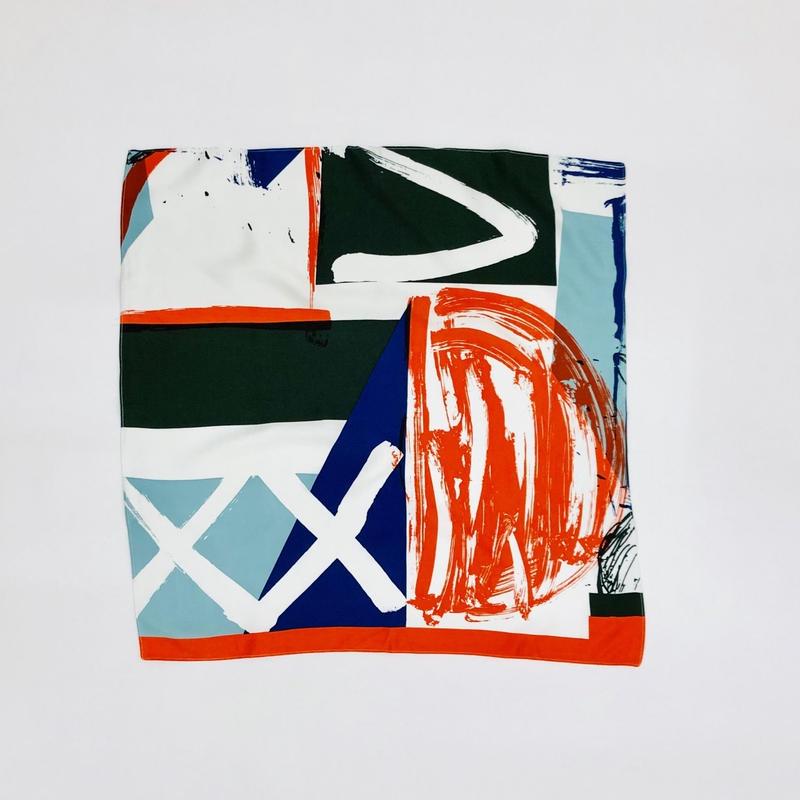 Hand print handkerchief04
