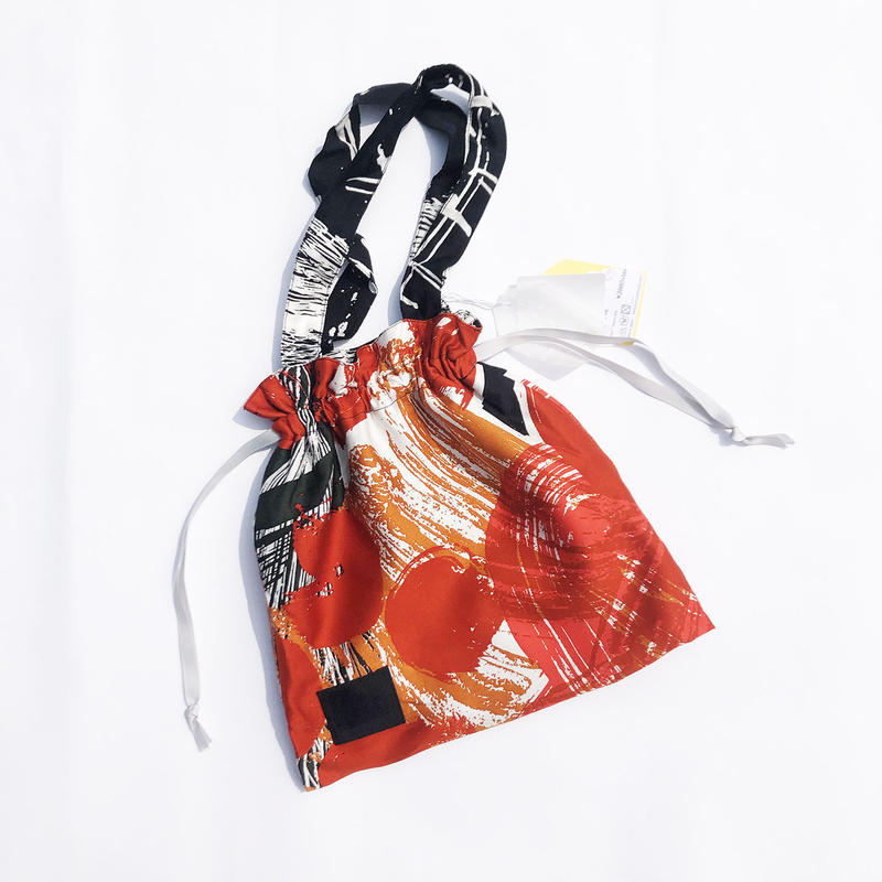 Hand print Drawstring bag 10(S)