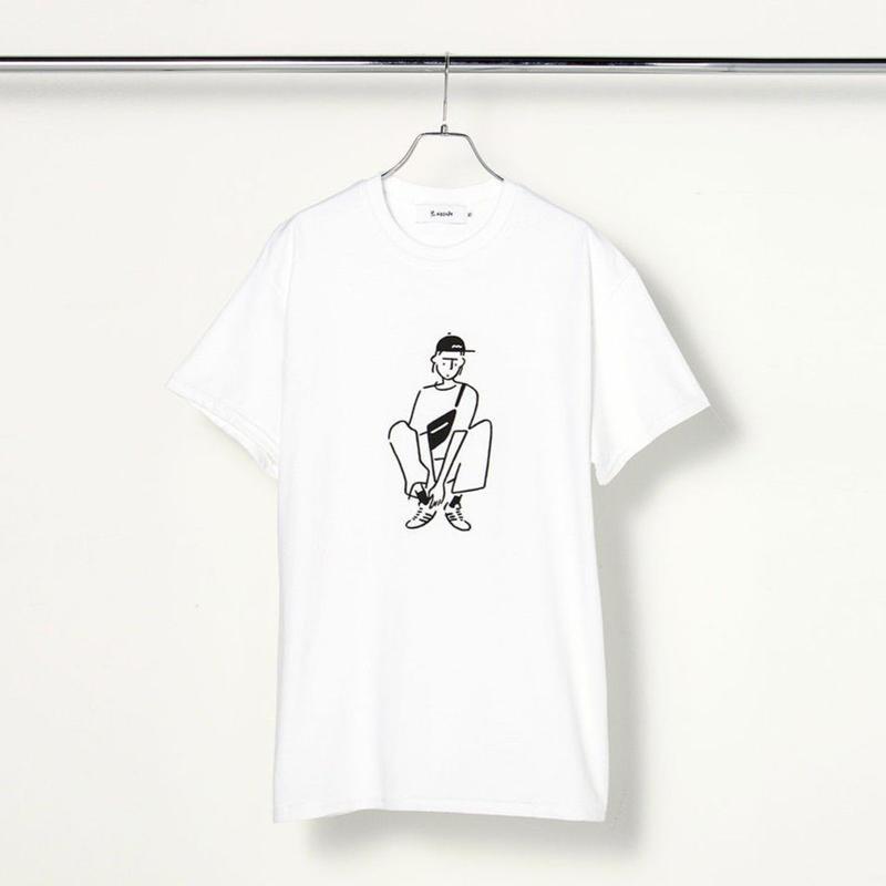 """T-shirt """"Girl04"""" White"""