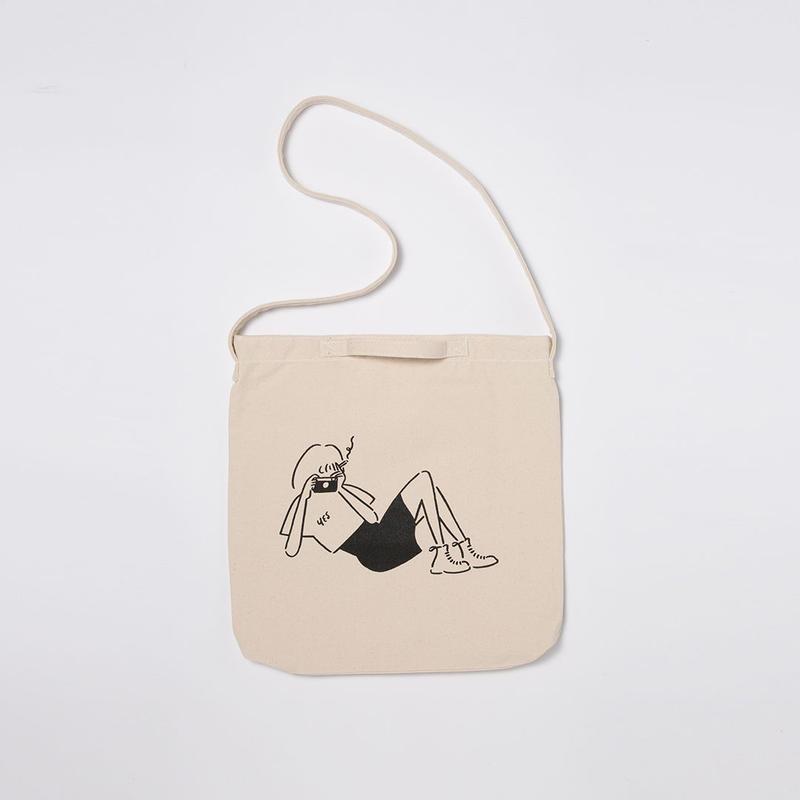 """2WAY Tote bag """"Camera"""""""