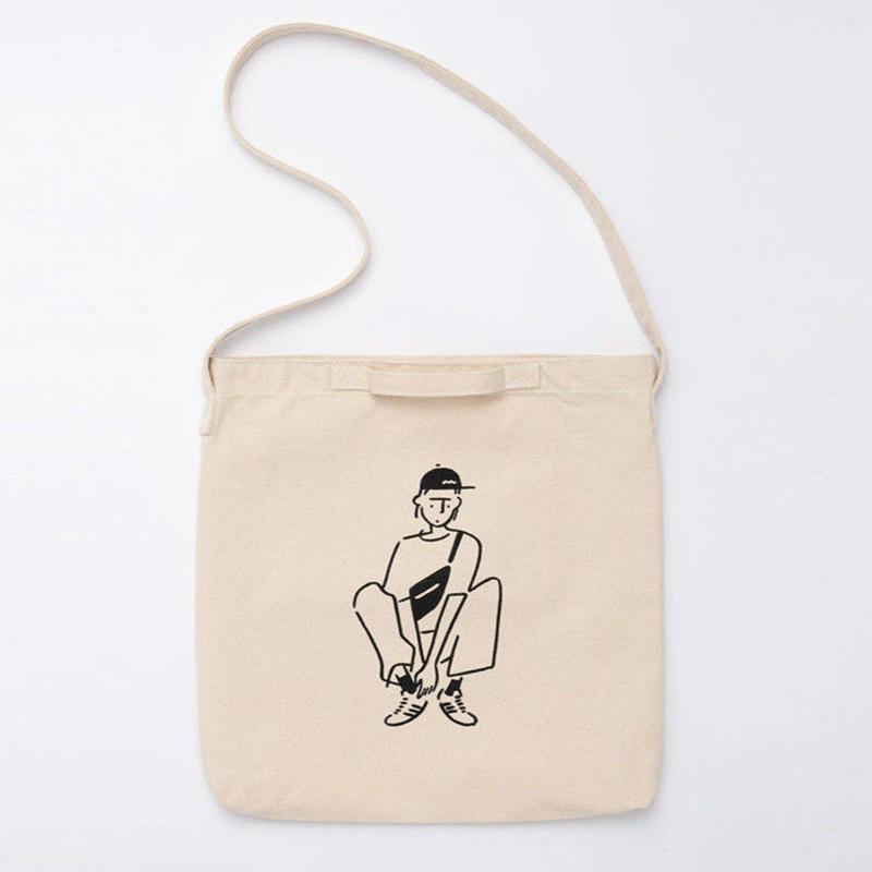 "2WAY Tote bag ""Girl04"""