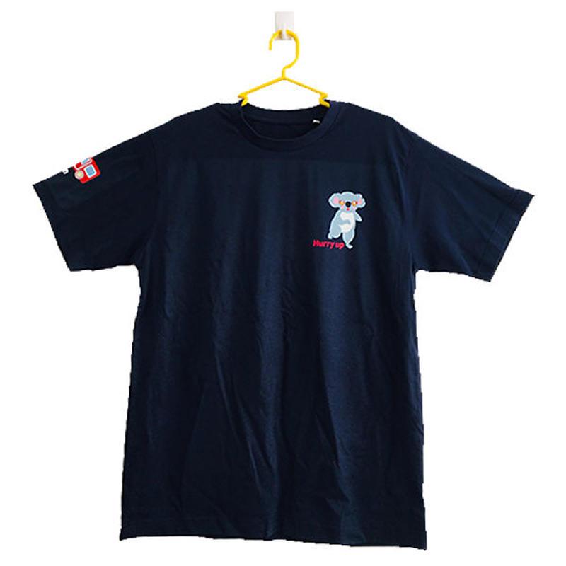 コアのTシャツ Hurry-up! マリン