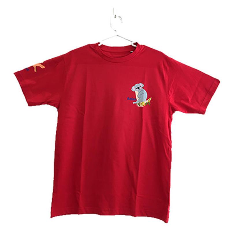 コアのTシャツ Relax レッド