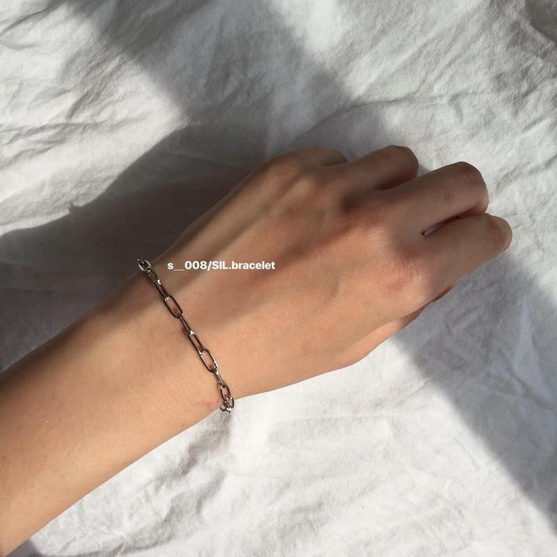 S ____ 008/SIL.bracelet