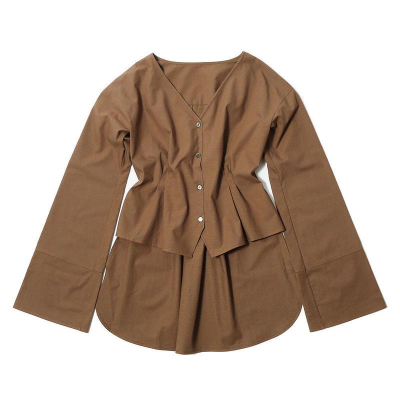 【CNLZ×SaraYoshida】V Shirt EMBI SARA ver.  / シーエヌエルゼット Vシャツ EMBI 吉田沙良デザイン