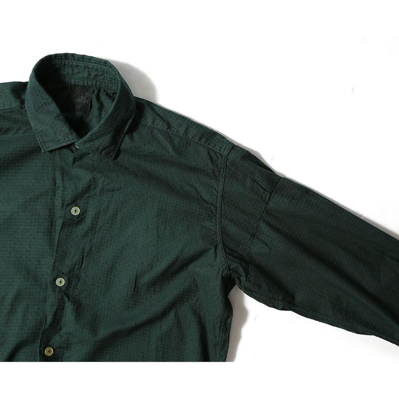 【L'ÉCHOPPE×CNLZ】BOTANICAL DRESS SHIRT6/レショップ × シーエヌエルゼット ボタニカルシャツ