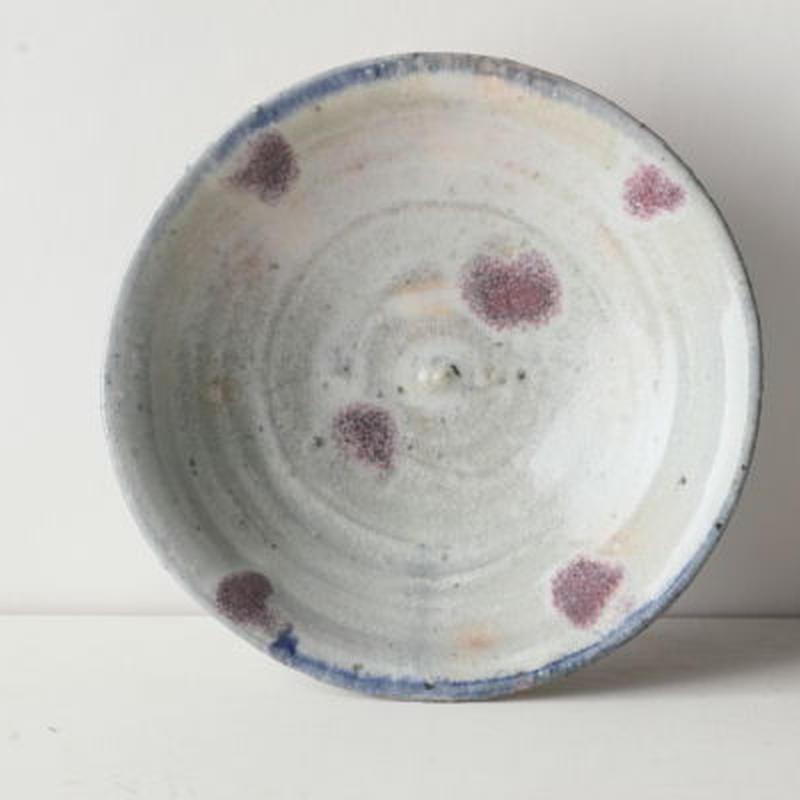 ピンク 水玉 小皿 / 内田 好美 [ 陶 ] 080816_067