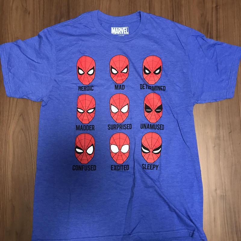 SPIDERMAN HOMECOMING  スパイディマスクTシャツ