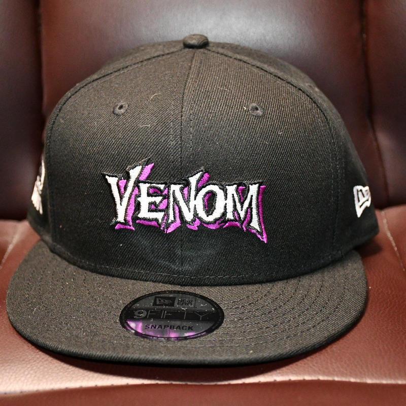 VENOM × NEW ERA  スナップバッグキャップ