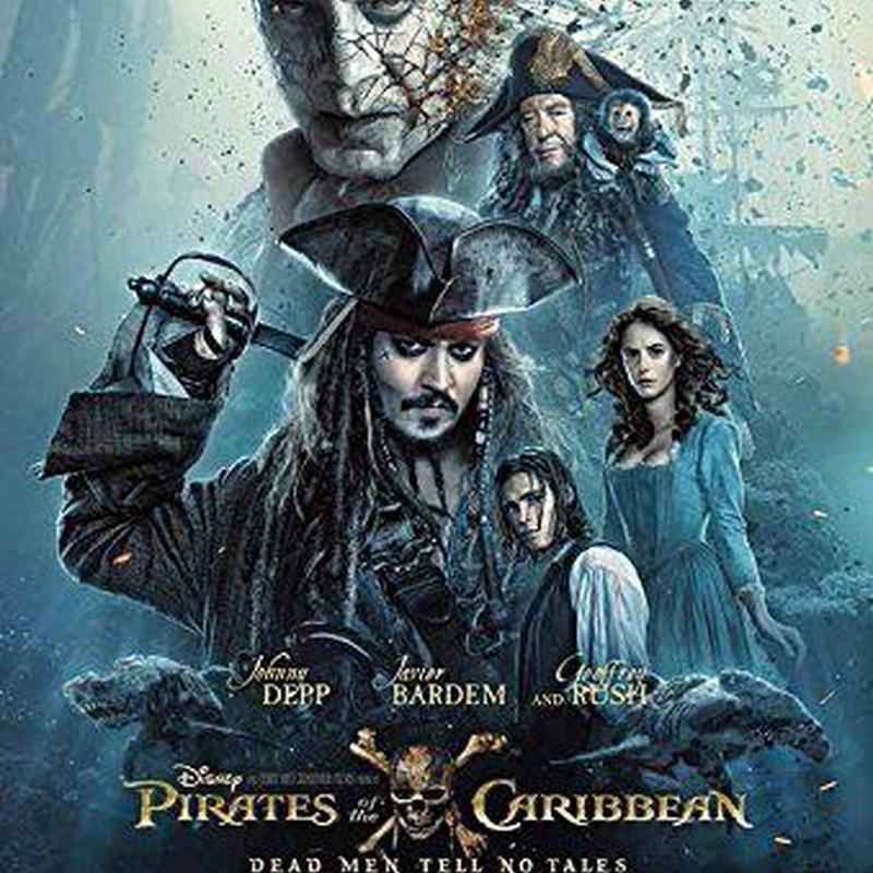 Pirates of the  Caribbean  DEAD MEN TEEL NO TALES  US版ポスター
