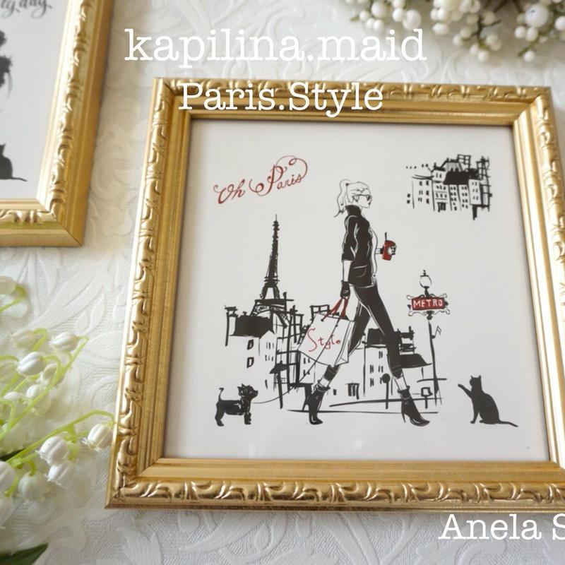 【kapilinamaid転写紙】Paris Style
