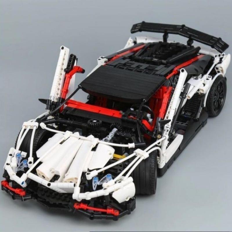 レゴ 互換品 ランボルギーニ アヴェンタドール スーパーカー テクニック MOC 欠パーツ保証 LEPIN LEGO