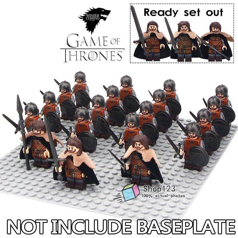 レゴ互換 ゲームオブスローンズ 北部軍 19体