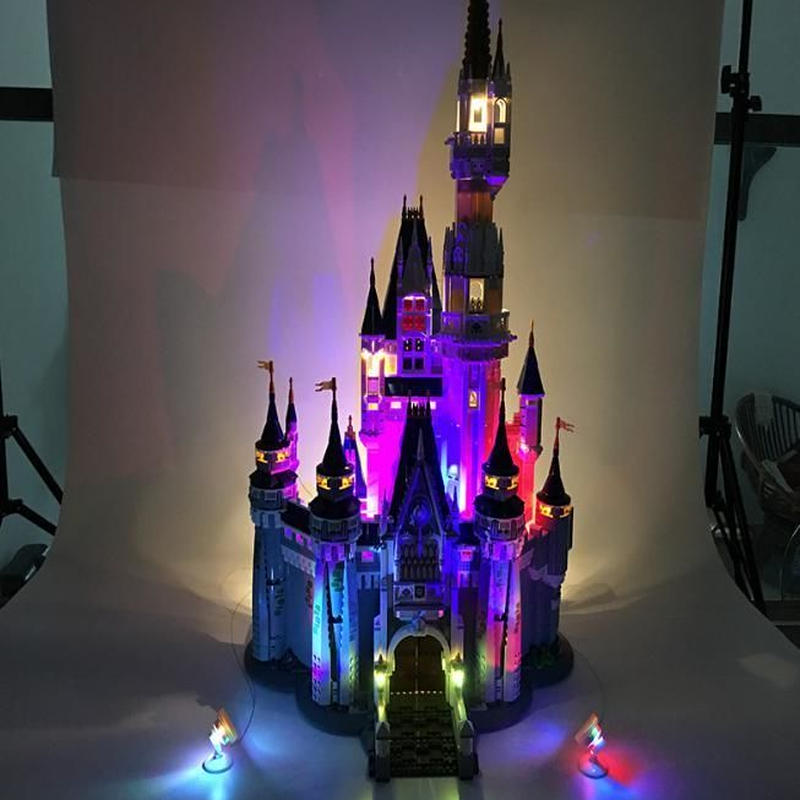 LEGO レゴ 71040 互換 ディズニーシンデレラ城 イルミネーション LED ライト キット