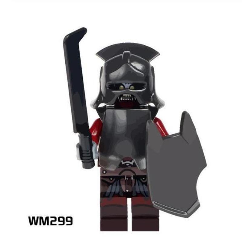 レゴ互換 ロードオブザリング ミニフィグ 30体 5種類から選択 ウルクハイ ビルボ Frodo アラゴルオーク