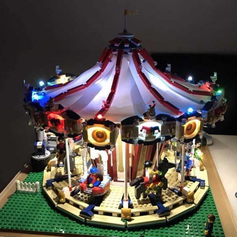 LEGO レゴ クリエイター 10196 互換 メリーゴーランド LED ライト キット