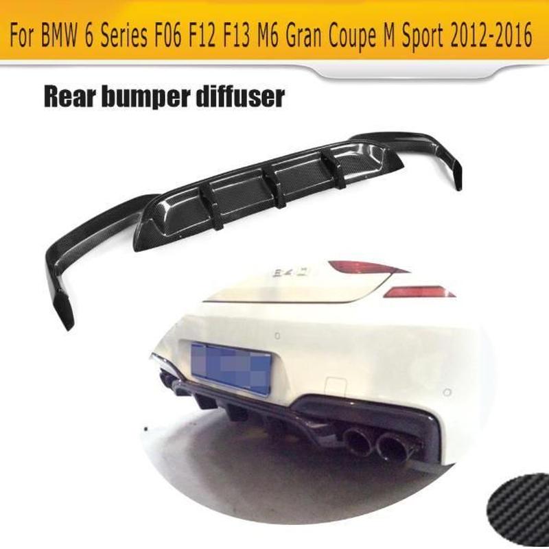 6シリーズ 2012~2016 カーボン リア ディフューザー バンパー F06 F12 F13 M6 BMW F06 F12 F13 640i 650i M-tech M-Sport & M6