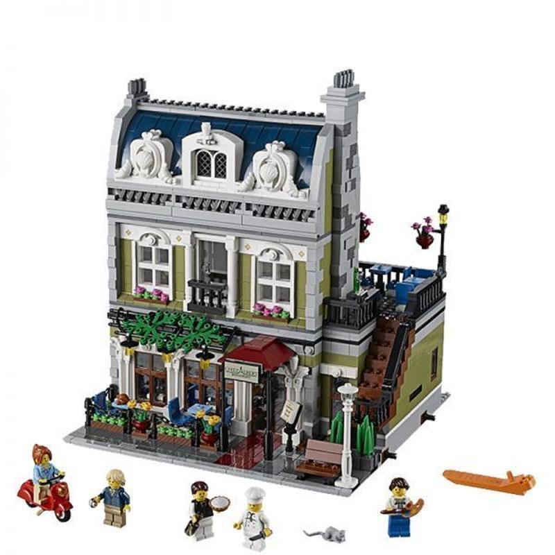 LEGO レゴ クリエイター エキスパート 10243 互換 クリエイター パリのレストラン