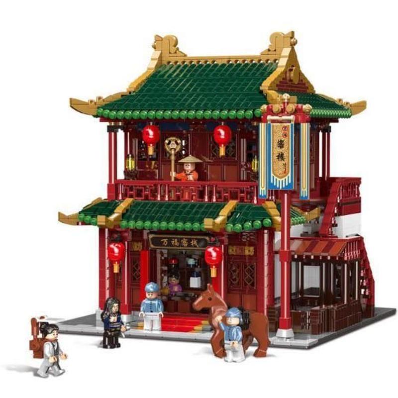 LEGO互換 中華街 宿場街 3046ピース LEPIN  レゴ ブロック 互換  lego