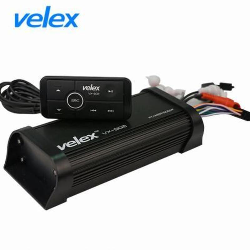 velex マリンオーディオ マリンデッキ Bluetoothアンプ 水上バイク ジェットスキー マリンジェット
