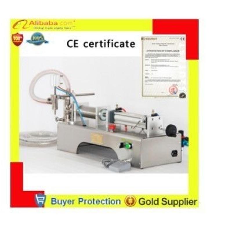 1000ミリリットル 1l液体充填機 半自動空気圧フィラー 水シャンプージュースオイル glycerinum 潤滑剤 ピストンフィラー