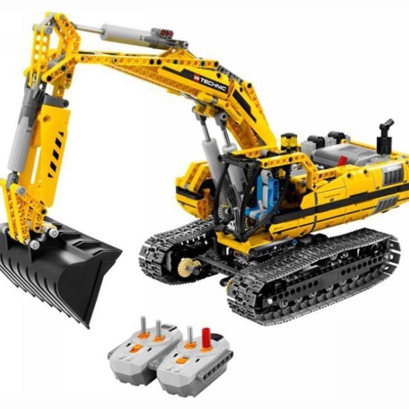LEGO互換 テクニックショベルカー 8043相当 1123ピース レゴ ブロック 互換  lego
