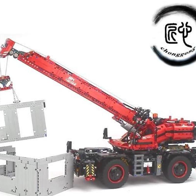 LEGO互換 テクニック 全地形対応型クレーン 42082相当 4544ピース レゴブロック 互換  lego