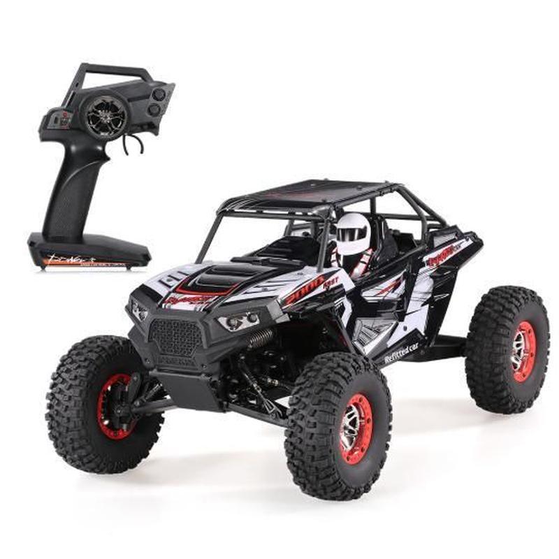 オリジナルWLtoys 10428-B2 1/10 2.4G 4WDエレクトリックロッククローラーオフロードバギー砂漠バハRCカーRTR