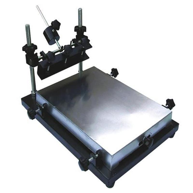 シルクスクリーン 一色印刷機 卓上型 A3サイズ自作Tシャツ印刷盤 ずれ防止 DIY バンドTシャツ 自主制作
