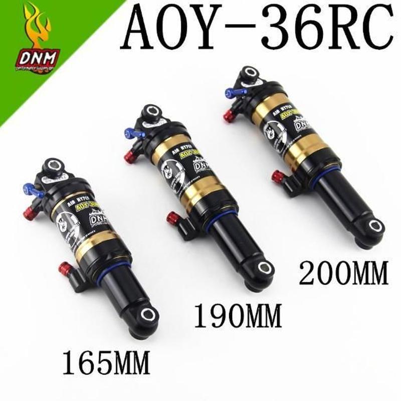 Dnm AOY-36RCリバウンド合金高圧マウンテン自転車リアサスペンション部品ダウンヒルmtbバイクリアショックアブソーバー