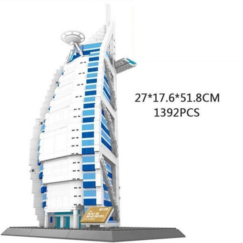LEGO レゴ アーキテクチャー 互換 ブルジュ・アル・アラブ 高さ51cm WANGE 8018
