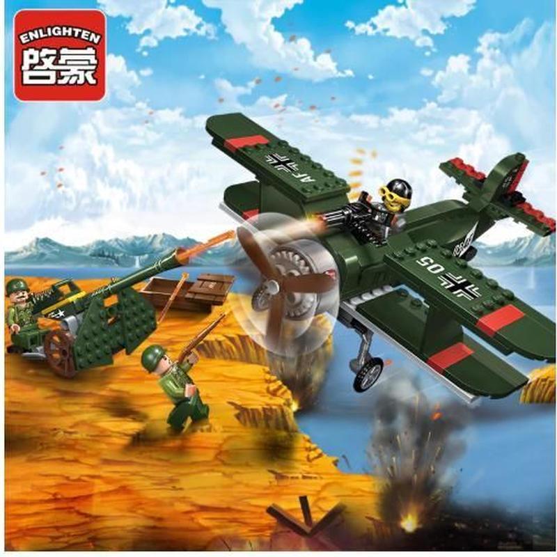 レゴ互換 Enlighten 1705 戦闘機のセット 新品未使用