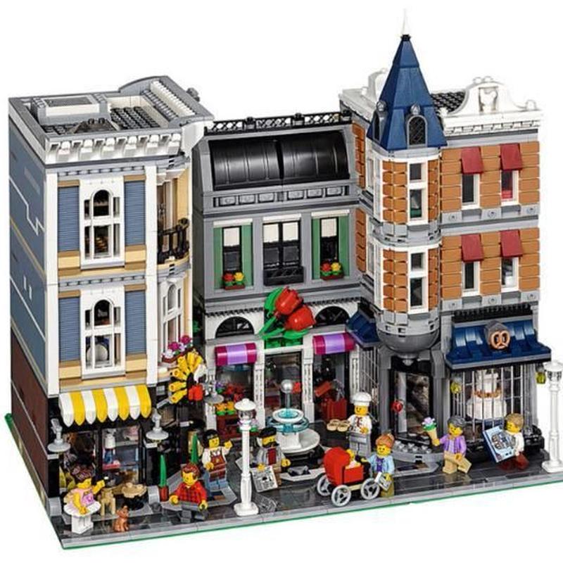 LEGO互換 LEPIN  クリエイター アセンブリスクエア 10255相当 4002ピース レゴ ブロック 互換  lego