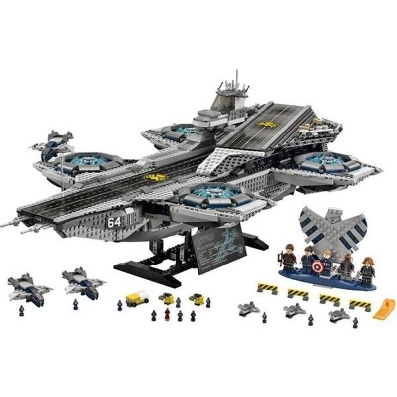 レゴ互換 アベンジャーズ ザ・シールド ヘリキャリア 76042相当 3057ピース lego レゴ ブロック 互換