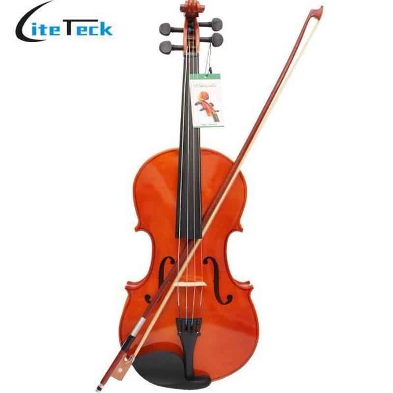 弦楽器 ヴィオラ 4/4 16インチ 本体 セット 弦 弓 ケース メイプル 練習 高品質 木製 良音 軽量 特殊