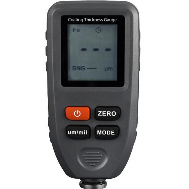デジタル膜厚計 電磁膜厚計 0-1300um ペイントフィルム塗装金属表面厚さテスター 幅測定ツール