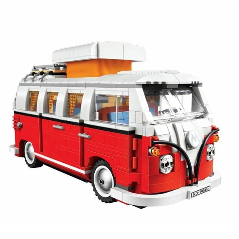 LEGO レゴ クリエイター 10220 互換 フォルクスワーゲン T1キャンパーヴァン