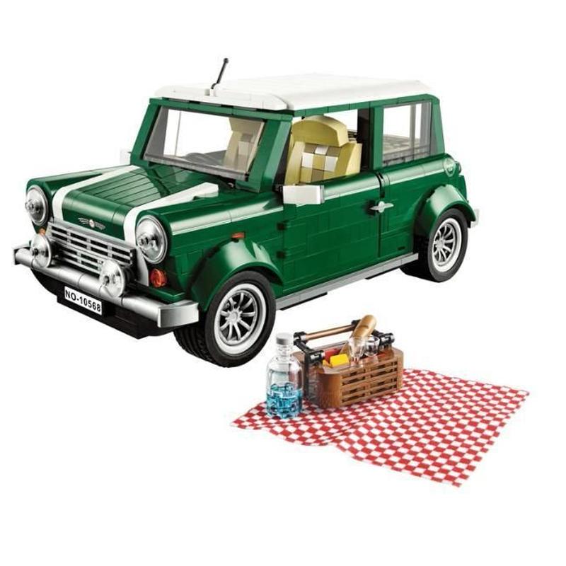 LEGO レゴ クリエイター 10242 互換 ミニクーパー