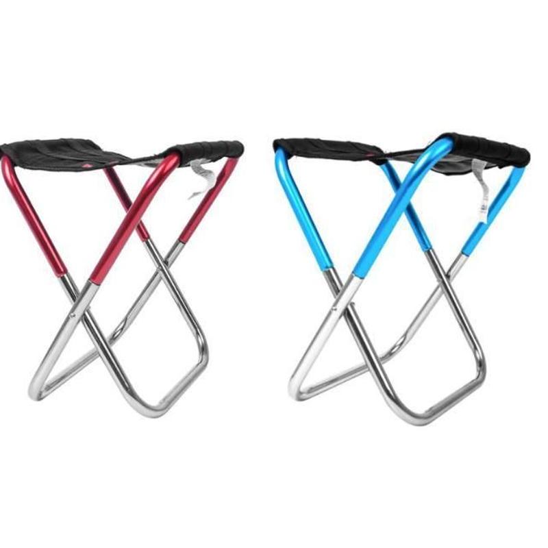 ポータブル折りたたみアルミスツール 軽量 椅子 オックスフォード布 折りたたみ椅子 キャンプ アウトドア レジャー ピクニック ビーチ 釣り フィッシングチェア