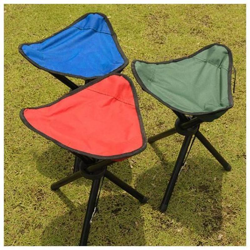 ポータブル軽量折りたたみチェア 三脚 スツール 椅子 屋外キャンプ ハイキング 釣り ピクニックガーデン バーベキュー フィッシングチェア 折りたたみ