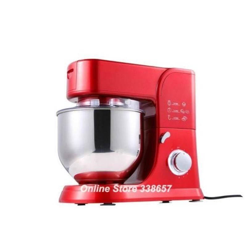 スタンドミキサー 5.5L 1000W 220V 2タイプから選択 調理 ケーキ生地 パン ミキサー キッチンスタンドミキサー 高品質