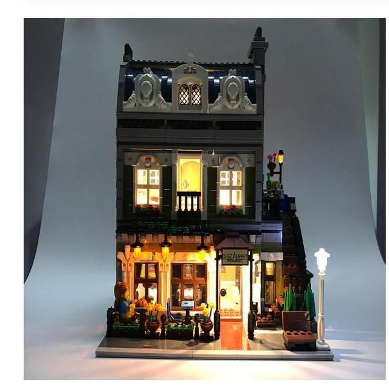 LEGO レゴ クリエイター エキスパート 10243 互換 クリエイター パリのレストラン イルミネーション LED ライトキット