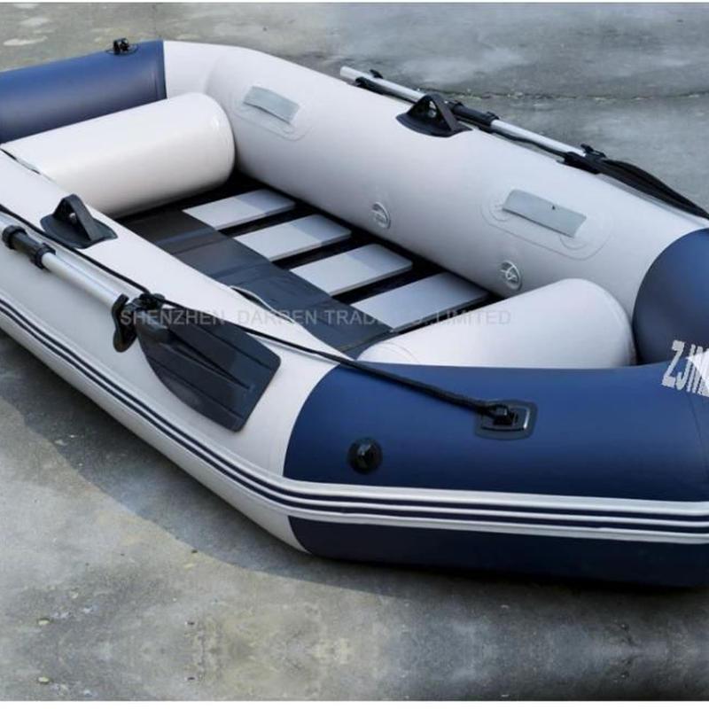 プロフェッショナル釣りボート 耐摩耗 ゴムボート PVC 3人用 インフレータブル